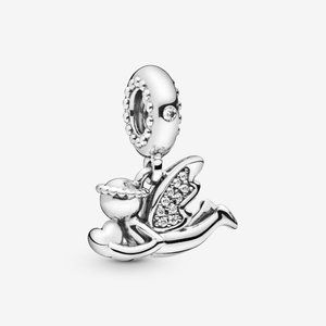 🌸Pandora Nurse Dangle Charm, Mixed Enamel
